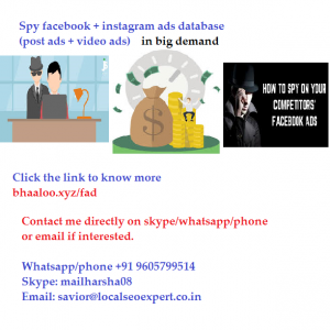 spy facebook instagram competitor ads database