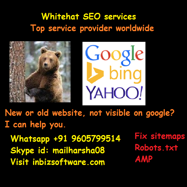 whitehat seo - instant indexing on google bing yahoo search engines