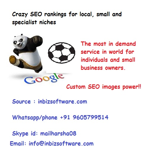 Crazy SEO rankings for local, small and specialist niches