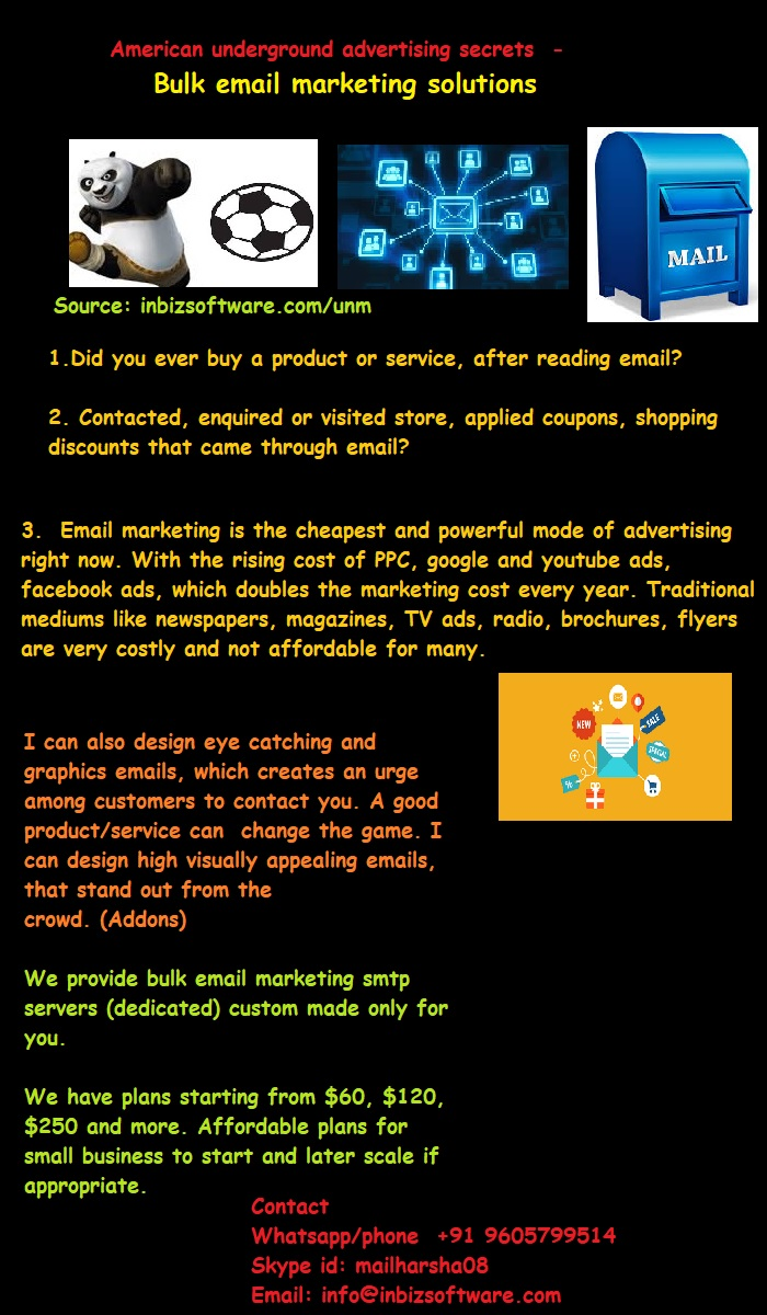 email ads graphic designs